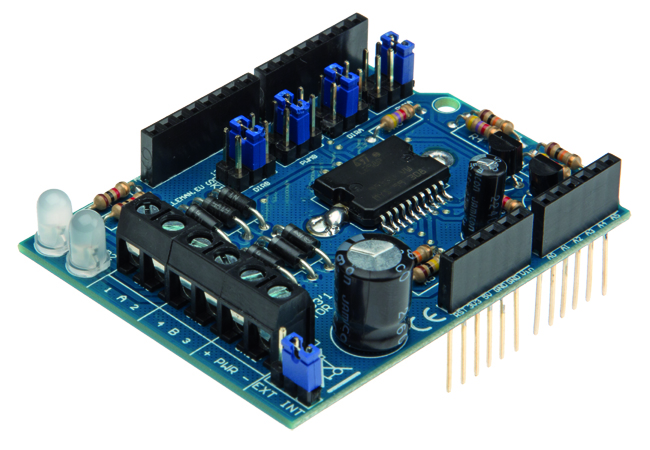 Velleman Motor And Power Shield For Arduino Vma03