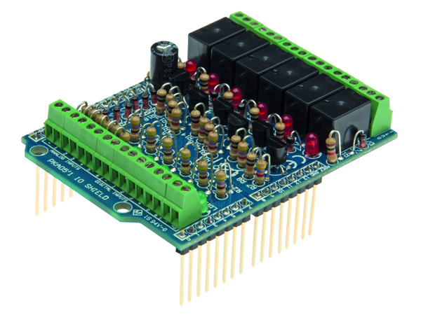 Velleman i o shield for arduino uno vma