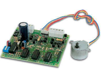 Velleman Stepper Motor Card Kit K8005