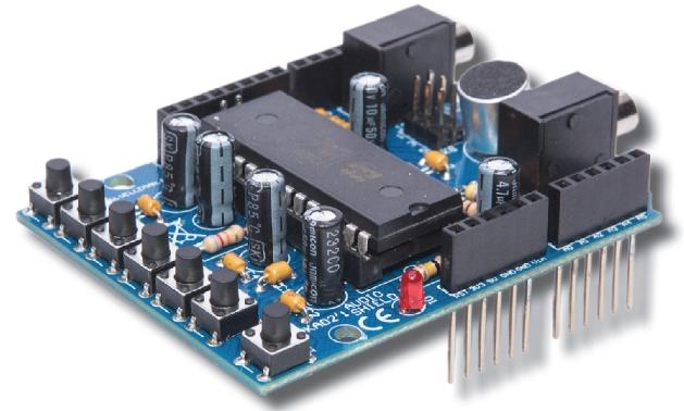 Velleman Audio Shield Kit for Arduino KA02