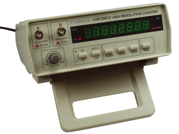 Computer Frequency Counter : Function generators counters