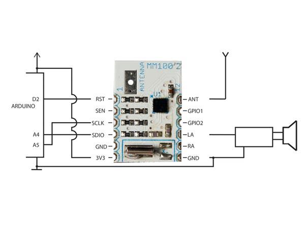 velleman fm radio receiver mini module