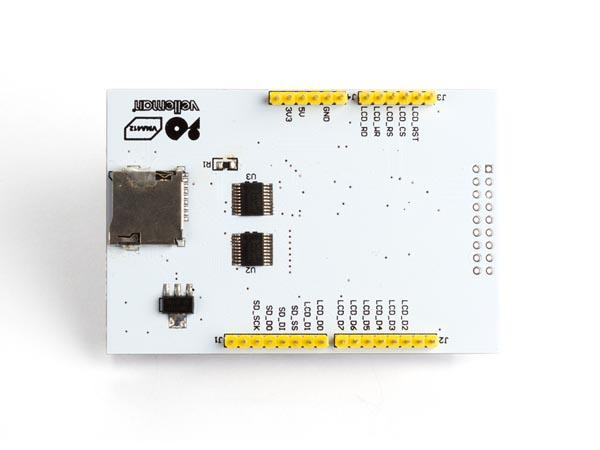 Velleman arduino™ quot touch screen for uno mega vma