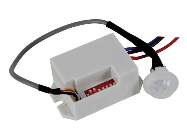 Velleman 12v mini pir motion detector pir416 for Branchement detecteur de mouvement exterieur