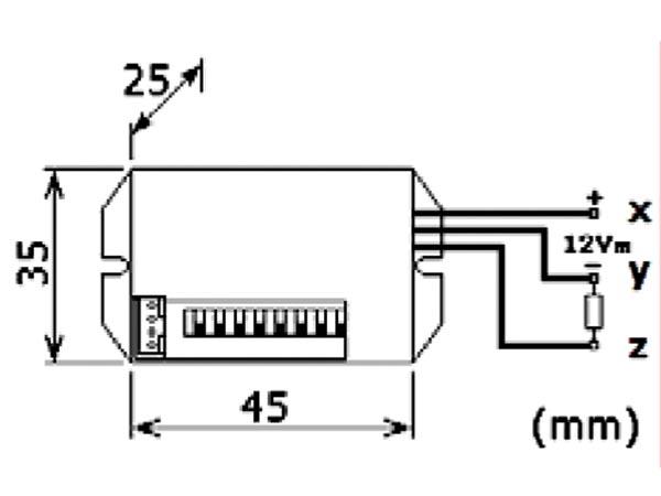 Velleman 12v Mini Pir Motion Detector Pir416