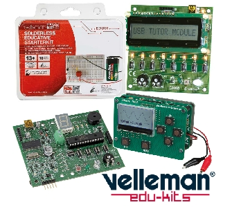Main UK Dealer for the full range of Velleman Products