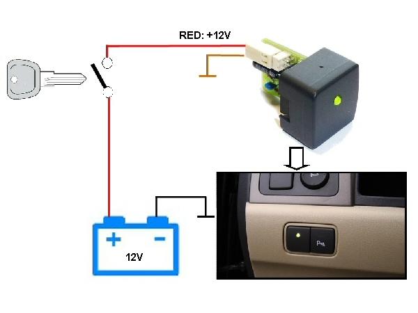 Car Battery Monitor : Velleman v car battery monitor module vm